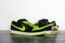 DS Nike Dunk SB Low Neon J Pack sz 12 w/ Box black chartreuse | TRUSTED SELLER!