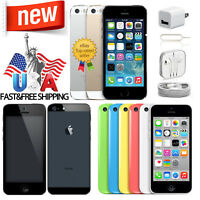 Apple iPhone 5 5C 5S 8GB/16/32GB Factory Unlocked GSM/CDMA Smartphone Brand New