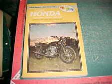 1965 thru 1977 HONDA CB/CL450 CB500T TWINS CLYMER REPAIR MANUAL very good