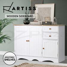 Artiss Kitchen Buffet Sideboard Cabinet Storage Cupboard Drawer Dresser Hallway