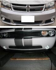 White Fog Lamp Angel Eye Driving Halo Lights for 2008- 2014 Dodge Challenger Fr