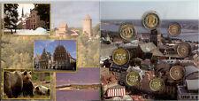 Letland euro set, 2014, in mapje