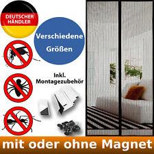 Fliegengitter für Türen Magnet Tür Magnetvorhang Mückenschutz Insektenschutz Set