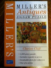 MILLER'S ANTIQUES 1000 PIECE CLARICE CLIFF JIGSAW PUZZLE - ANTIQUE CHINA