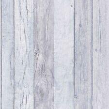 Ideco Wallpaper textura de madera azul lavable pegue The Wall Vinilo A17403