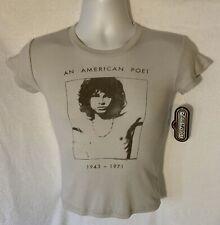 "Rare New Vtg The Doors Junk Food Junior 16"" Pit To Pit Light Grey 2005 M T Shirt"