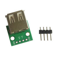USB Female Power USB A Female Module Breakout Breadboard Converter Board