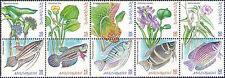 Malaysia 1999 Water Plants and Fish MNH
