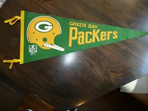 Vintage 1967 Green Bay Packers Pennant
