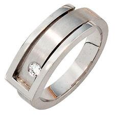 Echtschmuck aus Platin Ringe mit Diamant