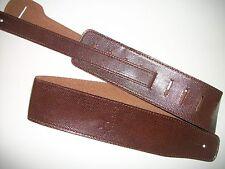 NUEVO CORREA guitarra SNAKE marrón - Patria - exterior cuero - nueva