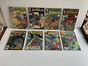 Marvel Deathlok Lot Of 8 Comics #2,11,12,13,15,19,20,22 Nice