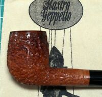 New & Unsmoked Geppetto by Ser Jacopo Billiard Fumee` Saddle Stem - Gepetto Pipe
