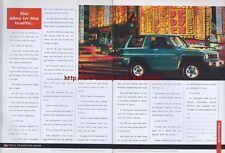 Daihatsu Sportrak 1.6 ELXi Car 1993 Double Page Magazine Advert #121