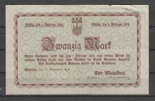 Bunzlau  -  Stadtgemeinde  -  20 Mark  (AB)