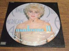 Madonna Picture Disc 33RPM Speed Music Records