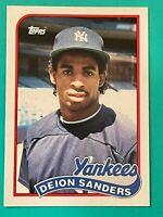 Topps Traded 1989 #110T RC Deion Sanders - New York Yankees