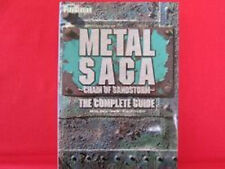 Metal Saga Chain Of Sandstorm Complete Guide Book / Playstation 2, PS2