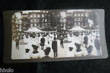 STA923 Queen Alexandra London reine Photo 1900 STEREO stereoview