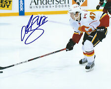 **GFA Calgary Flames *SVEN BAERTSCHI* Signed 8x10 Photo COA**