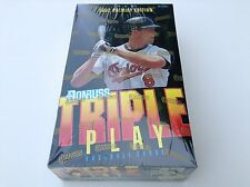 1992 Premier Edition Donruss Triple Play 36 Pack Box Baseball -Factory Sealed