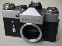 ZENIT-B Russian Soviet SLR 35mm Camera body