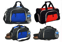 "18"" NEW Gym Bag Duffle Travel Workout Sports Luggage Carry On Shoe Bottle Pocket"