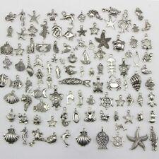 50pcs Lots Metal Pendant Charm Fit Findings Tibetan Silver Turtle 19.5x12x4.5mm