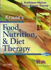 Krause's Food, Nutrition and Diet Therapy (Food, Nutrition & Diet Therapy (