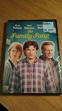 THE FAMILY FANG  ~  Nicole Kidman Jason Bateman Christopher Walken 2016 DVD NEW