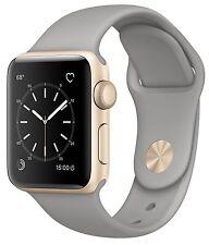 Apple Watch Series 2 38mm Gold Aluminum Case Concrete Sport Band MNP22LL/A
