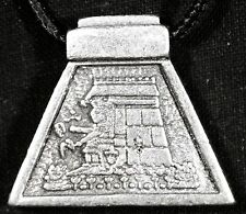 AZTEC ASTROLOGY Calli - House (silver color)