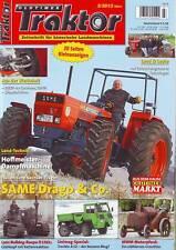 Oldtimer Traktor 3/13 SAME-Sechszylinder/MWM Motorpferd/Trenkle A 52/Lanz D 1561
