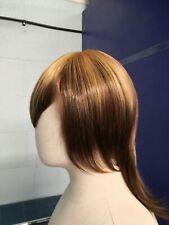 Honey Blonde Brown Split Layered Medium Long Fashion Synthetic Cosplay Wig