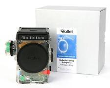 RARE TRANSPARANT ROLLEI ROLLEIFLEX 6008 INTEGRAL 2 / RARE UNIQUE!!!