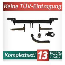 Opel Zafira B 05-14 Kpl. Anhängerkupplung starr+E-Satz 13p