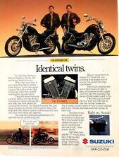1987 Suzuki Intruder VS700GL Motorcycle Vintage Original Print Ad