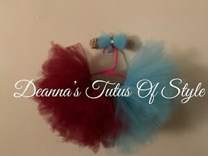 Baby Girl Tutu With Headband Size 3-6 Months