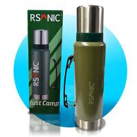 RSonic Edelstahl Thermoskanne Thermosflasche Doppelwandige Trinkflasche 1200ml