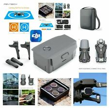 DJI Mavic 2 Fly More Combo 1X Battery Zoom Bundle Deluxe Accessories Filter Kit