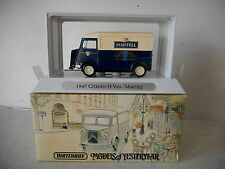 Matchbox Models of Yesteryear YTF 2 - 1947 Citroen Type 'H' Van - Martell - NIB