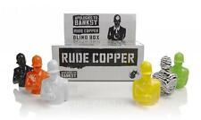 "ONE BLIND BOX RUDE COPPER 4"" DESIGNER VINYL ART TOY FIGURE APOLOGIES TO BANKSY"