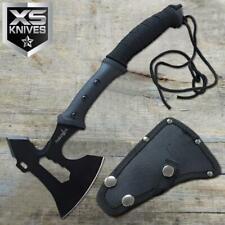 "Survivor 14"" Tactical Black Tomahawk Throwing Axe Combat MultiTool Survival"