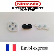 Kit Contact caoutchouc conducteur pad NES neuf Boutons Manette touches Super