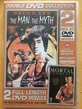 Double DVD Collection 2 Full Length DVD Movies Man & The Myth & Mortal Conquest