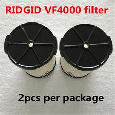 RIDGID VF4000 Washable Wet/Dry Vacuum Garage Shop Vac Pleated Filter--2PCS/PK!!