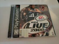 NBA live  2000 (Sony PlayStation 1, 1999) free shipping! 💥🏀complete cib