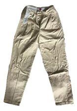 Pantalone da donna Tommy Hilfiger Pantaloni Casual Cotone Pants Trousers Size XS