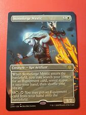 DOUBLE MASTERS TOPPER | STONEFORGE MYSTIC | MTG | MINT | FROM BOOSTER TO SLEEVE