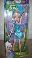 New Disney Tinkerbell Fairies Sparkle Party PERIWINKLE Frost Fairy Pixie Doll